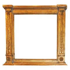 Empire Giltwood Carved Frame