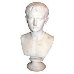 19thc. Marble Caesar