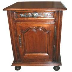 18th c. Walnut Confuitier Cabinet