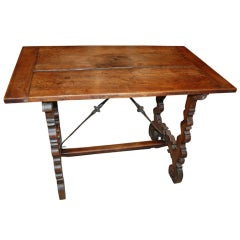 18th c. Walnut Refectory Table