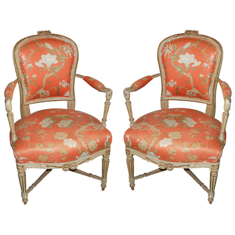 Pair Of 18th Century Provincial Chairs At 1stdibs