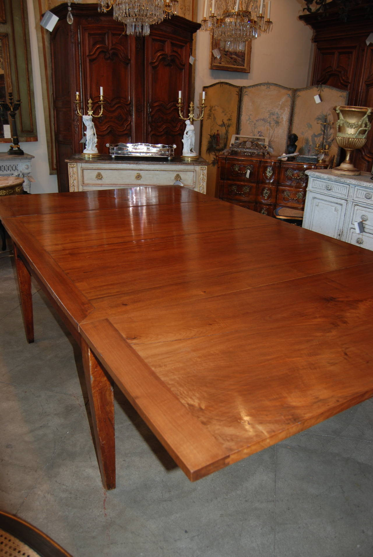 18th Century Italian Walnut Harvest Table 6