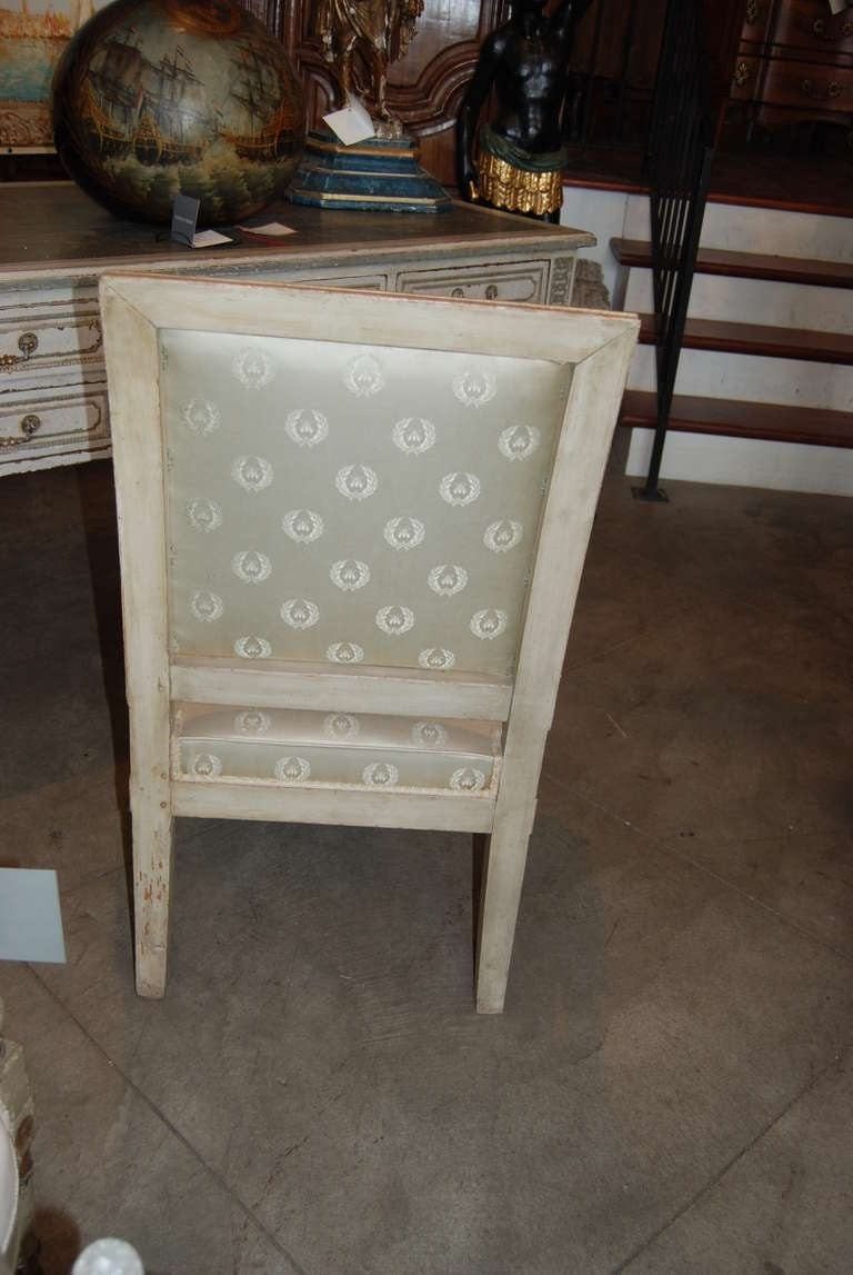 Period Louis XVI Armchair In Excellent Condition For Sale In New Orleans, LA