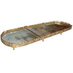 Bronze Dore Surtout de Table