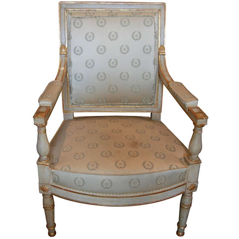 Period Louis XVI Armchair For Sale