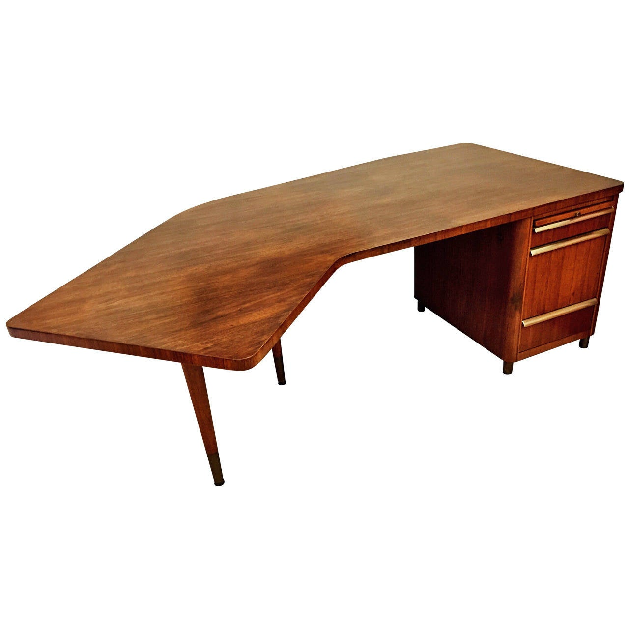Vintage Stow and Davis Walnut Desk