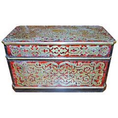 19th Century Boulle Tea Caddy