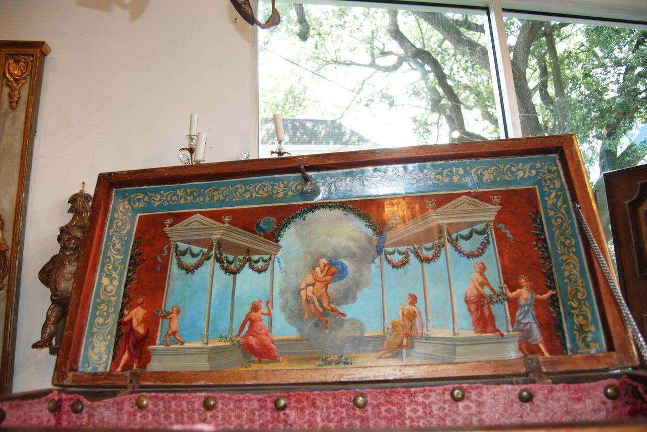 Italian Royal Venetian 18th Century Trousseau Cassone For Sale
