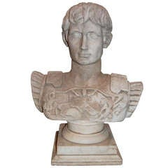 19thc Marble Bust