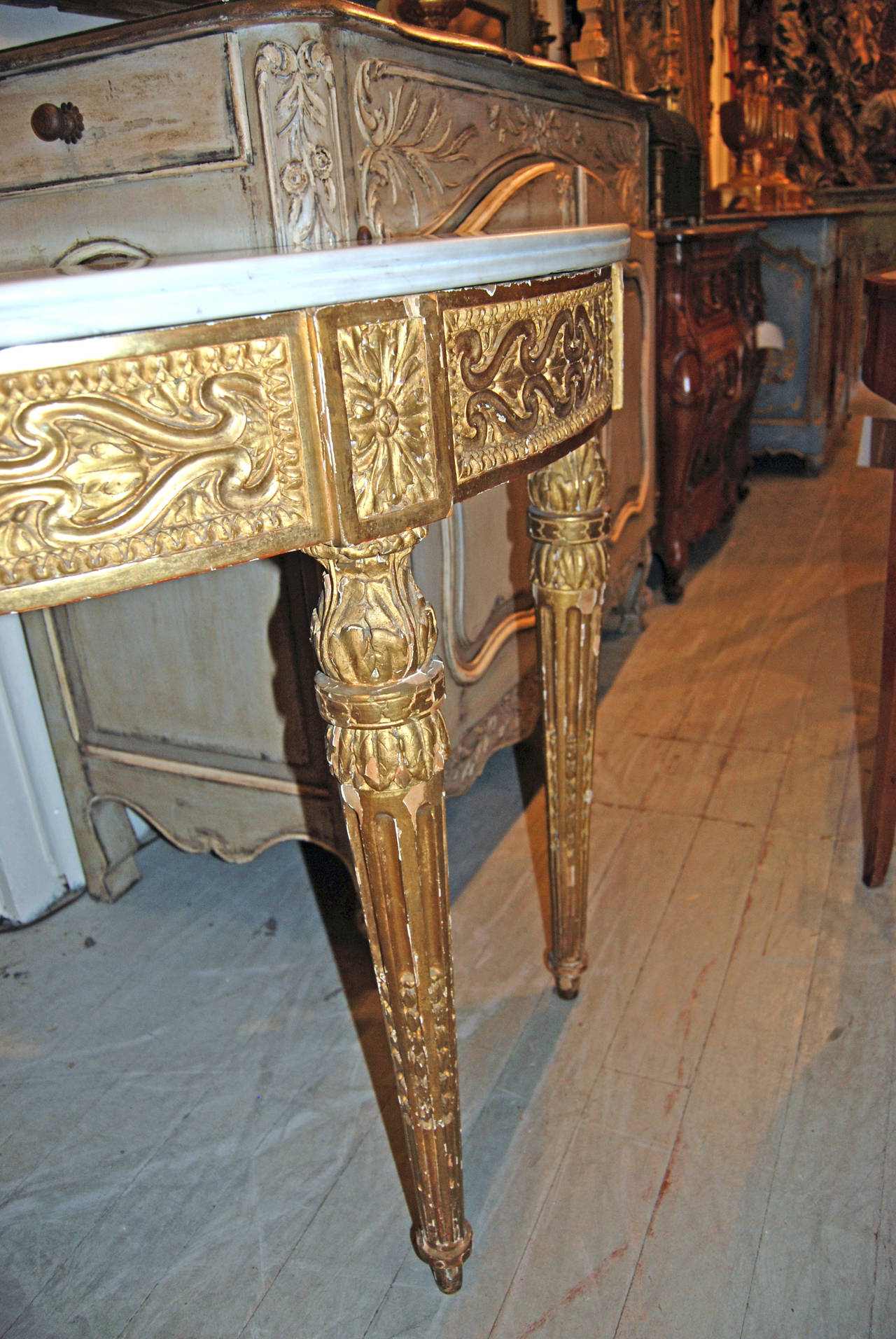 18th Century Louis XVI Console Table 3