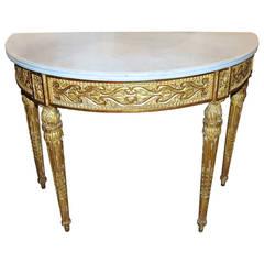 18th Century Louis XVI Console Table