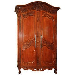 18th Century Walnut Armoire