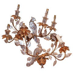 Pair Bagues Style Sconces