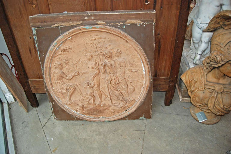 Neoclassical Terracotta Frieze