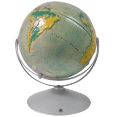 World Relief Globe by Nystrom