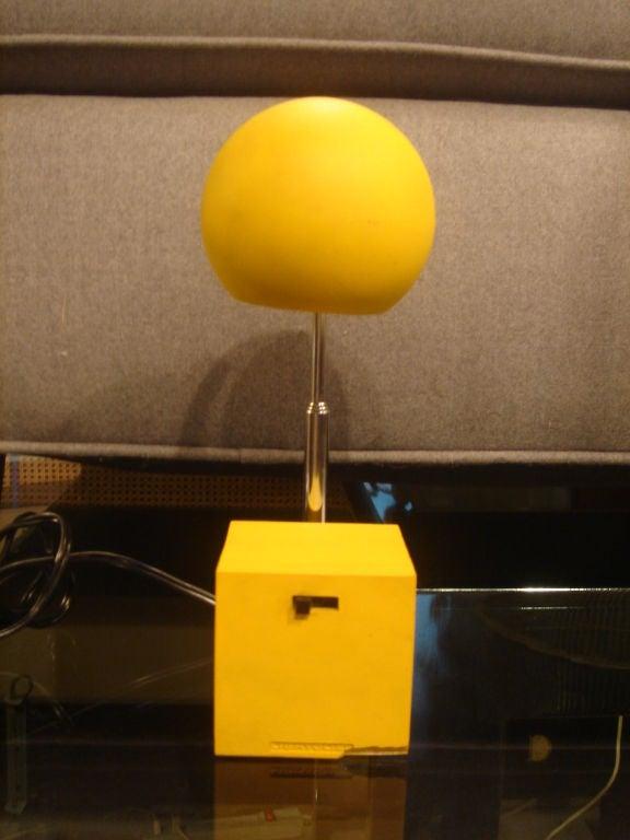 Yellow Lytegem Task Lamp By Michael Lax For Lightolier At