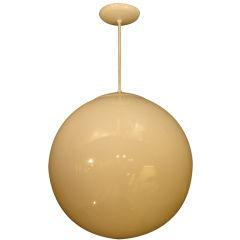 Vintage Style Acrylic Globe Hanging Pendant Light Fixture