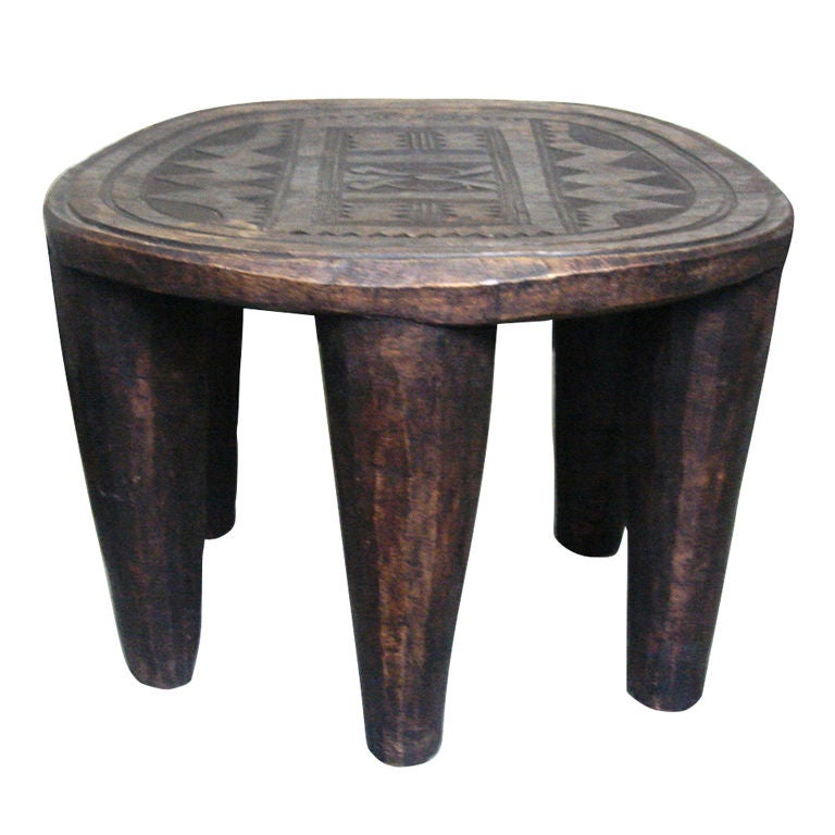Vintage African Quot Elephant Quot Stool From Nupe Tribe At 1stdibs