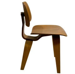 Pair of Early DCW Plywood Chairs