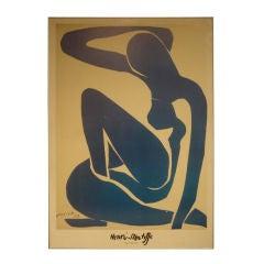 Vintage Framed Art Poster by Henri Matisse