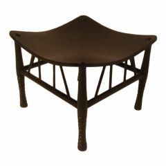 Thebes Stool by Liberty of London in Ebony