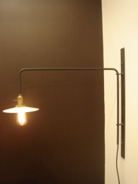 Custom Wall Light - Custom or 26 inch arm depth at 1stdibs