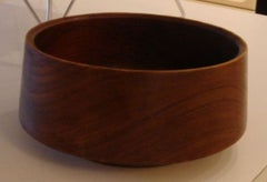 Danish Teak Bowl by Laurids Lonborg