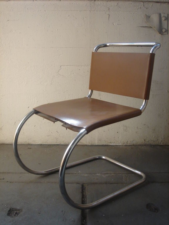 Late 20th Century Vintage 1970s Knoll MR Dining Chairs For Sale