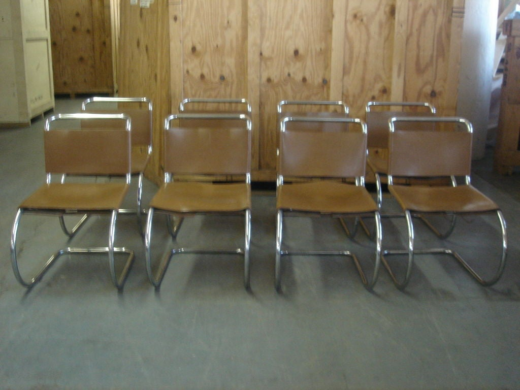 Vintage 1970s Knoll MR Dining Chairs For Sale 2