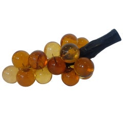 Amber Oversize Cluster of Grapes