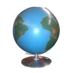 Vintage School Globe by Nystrom