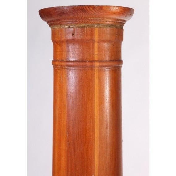Pair Of Vintage Wood Architectural Columns At 1stdibs