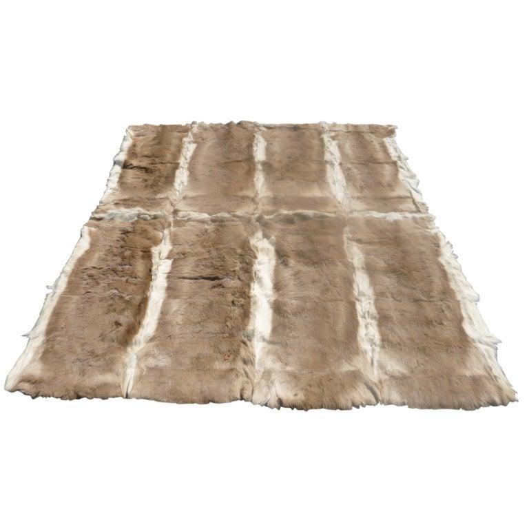 Antelope Fur Hide Rug For Sale