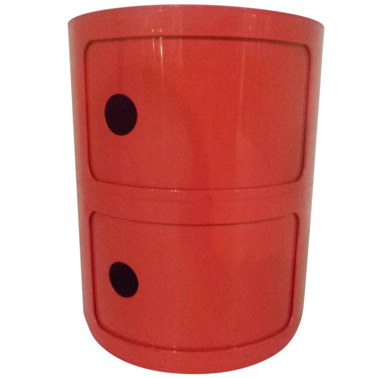 Componibili Red Storage Unit by Kartell at 1stdibs : XXX788713445422421 from www.1stdibs.com size 768 x 768 jpeg 45kB