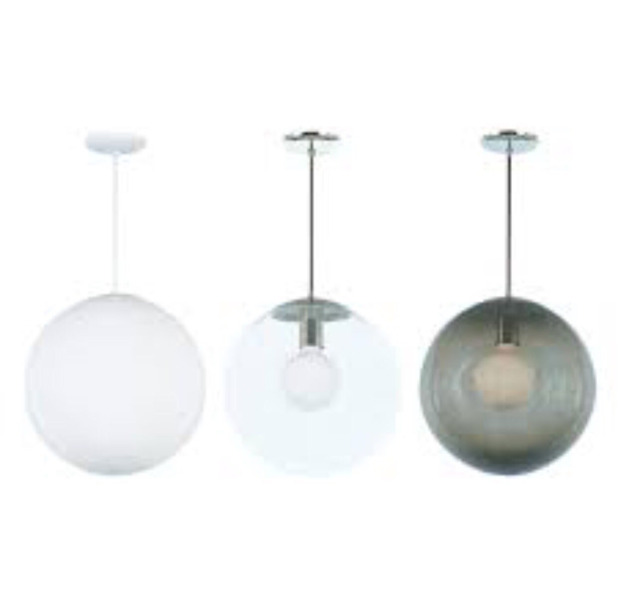 Vintage Style Glass Globe Hanging Pendant Light Fixture For Sale at ...