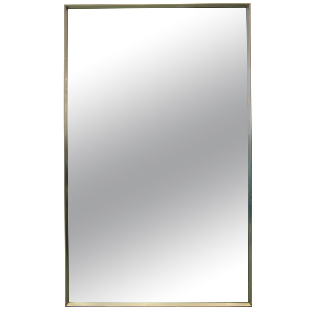 Minimalist Stainless Steel Mirror
