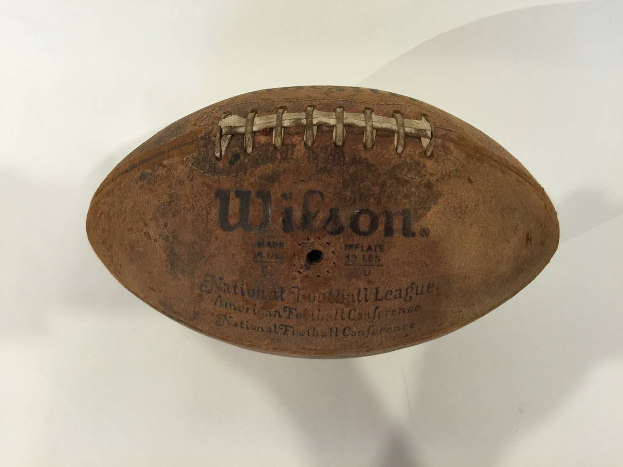 Vintage Pigskin Football by Wilson 2