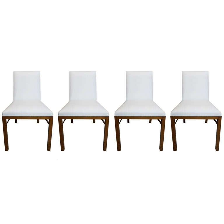 Walnut Dining Chairs by TH Robsjohn Gibbings