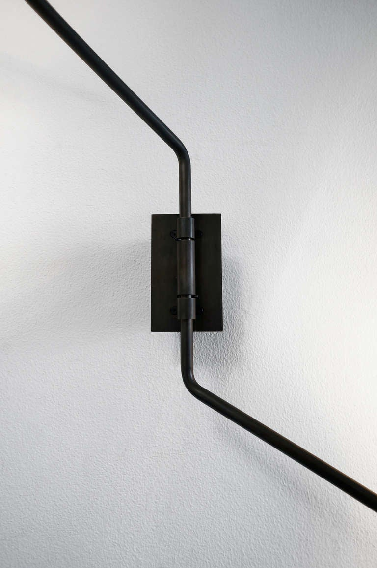 switch two arm wall sconce for sale at 1stdibs