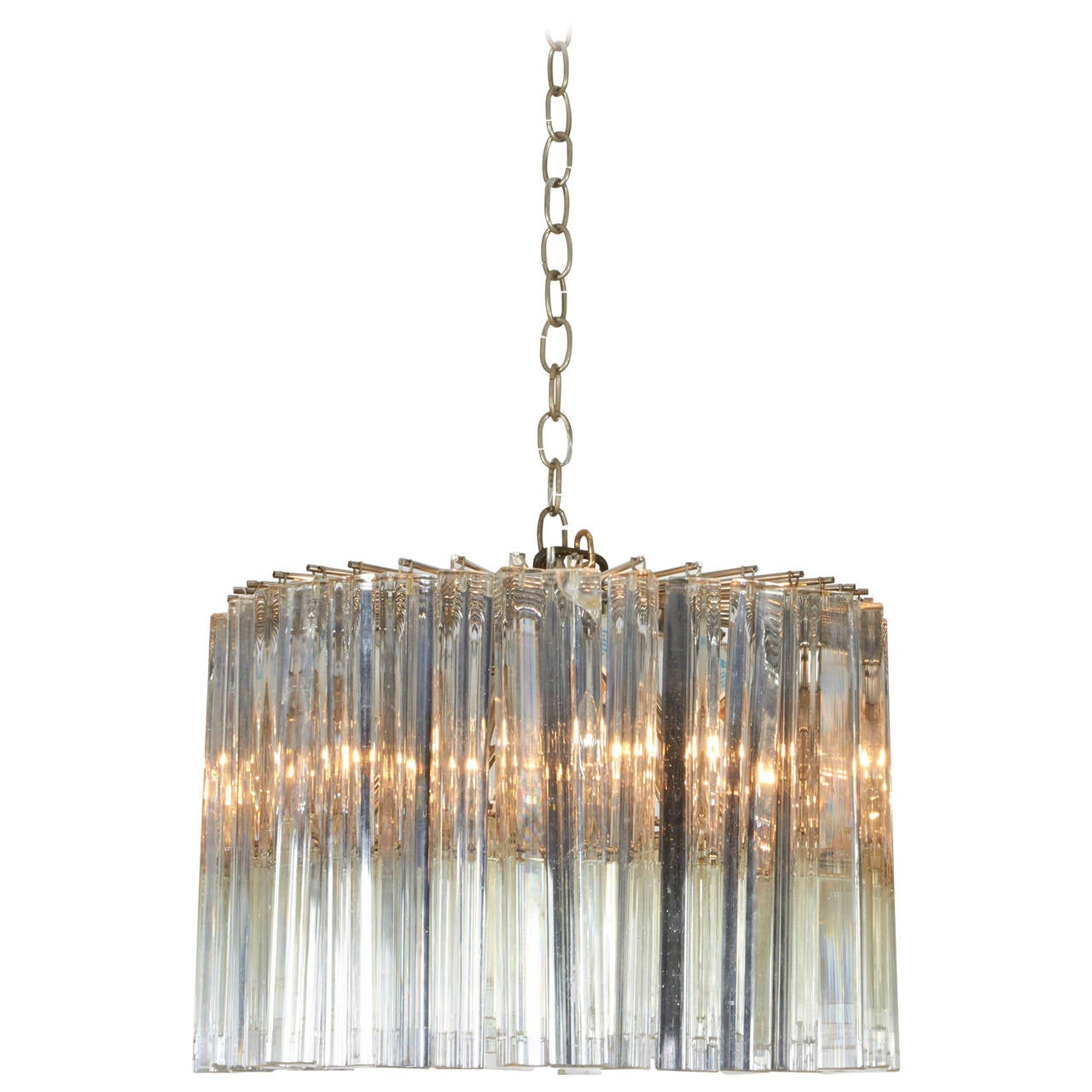 Dramatic Crystal Chandelier by Camer For Sale