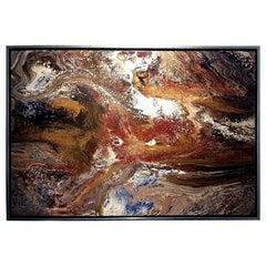 Original Painting by Listed American Artist Richard Mann