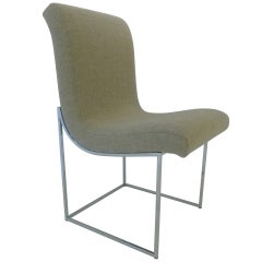 Scoop chairs by Milo Baughman for Thayer Coggin in COM
