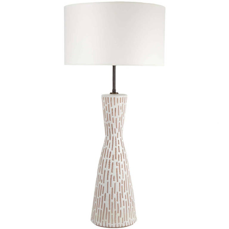 Italian Ceramic Table Lamp by Raymor