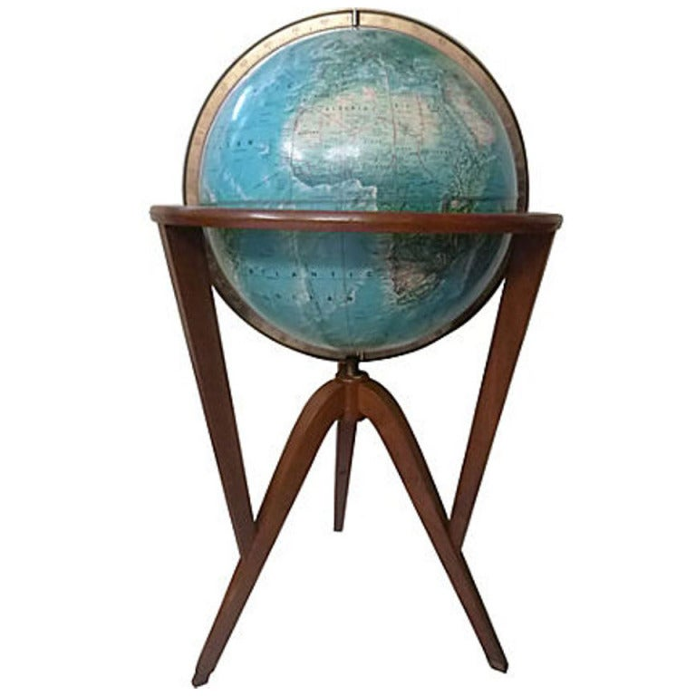 World Globe by Edward Wormley 1