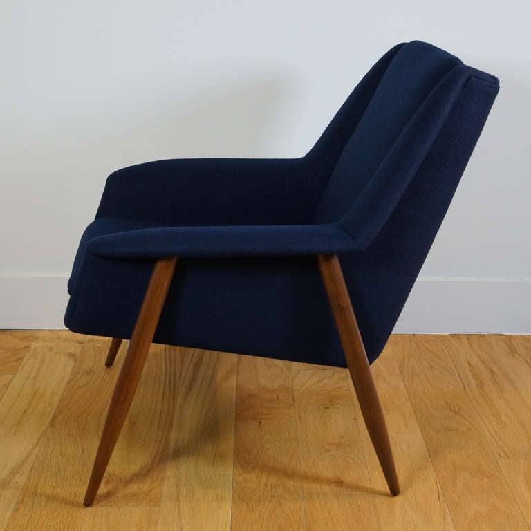 Pair of Lounge Chairs by Cassina at 1stdibs