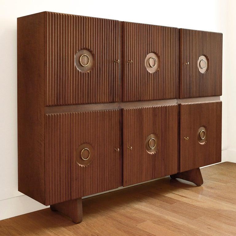Six-Door Cabinet by Paolo Buffa 2