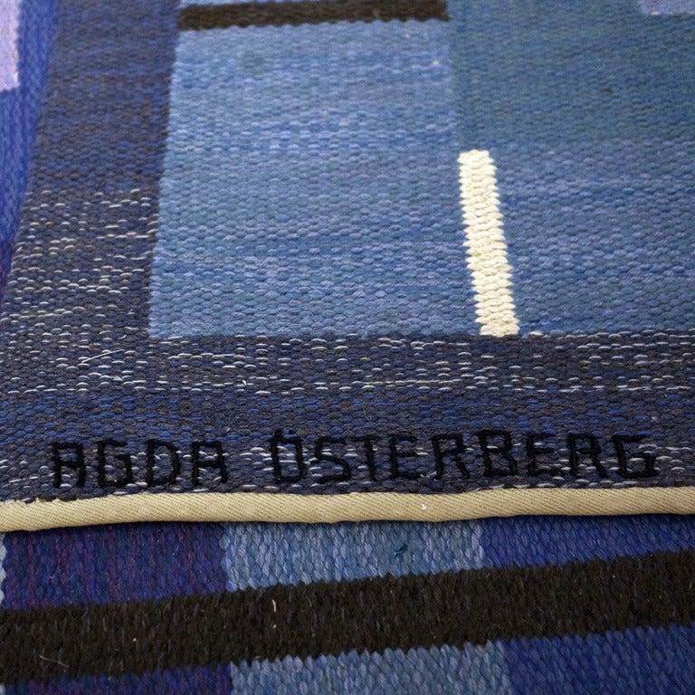 Swedish Carpet by Agda Österberg For Sale