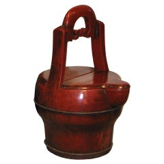 Red Water Container