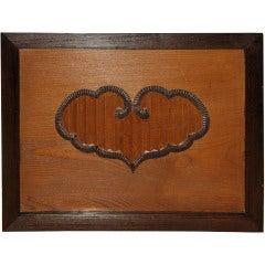Japanese Keyaki Wood Panel