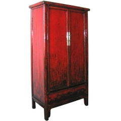 Red Wedding Cabinet